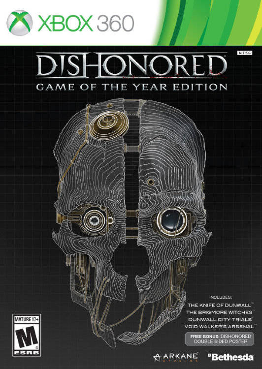 Dishonored Game of the Year Edition (2 Xbox 360)