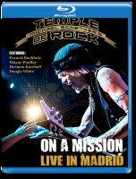 Michael Schenkers Temple of Rock On a Mission Live In Madrid (Blu-ray)