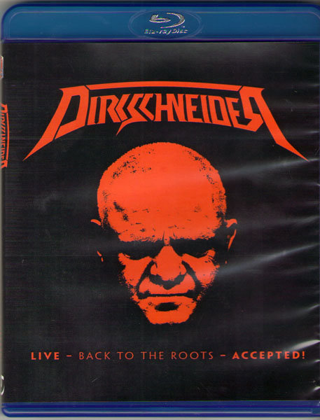 Dirkschneider Live Back To The Roots Accepted (Blu-ray)