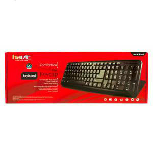 Клавиатура HAVIT HV-KB308, multimedia wired USB