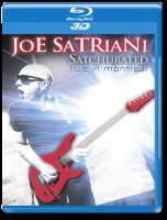Joe Satriani Satchurated Live In Montreal 3D (Blu-ray 50GB)