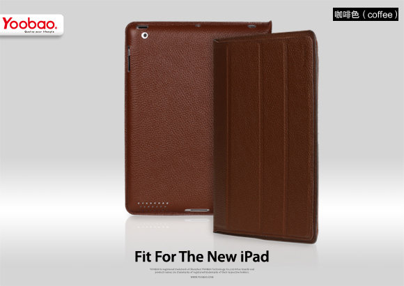 Чехол Yoobao iSmart Leather Case for iPad2/iPad3/iPad4 Кофейный