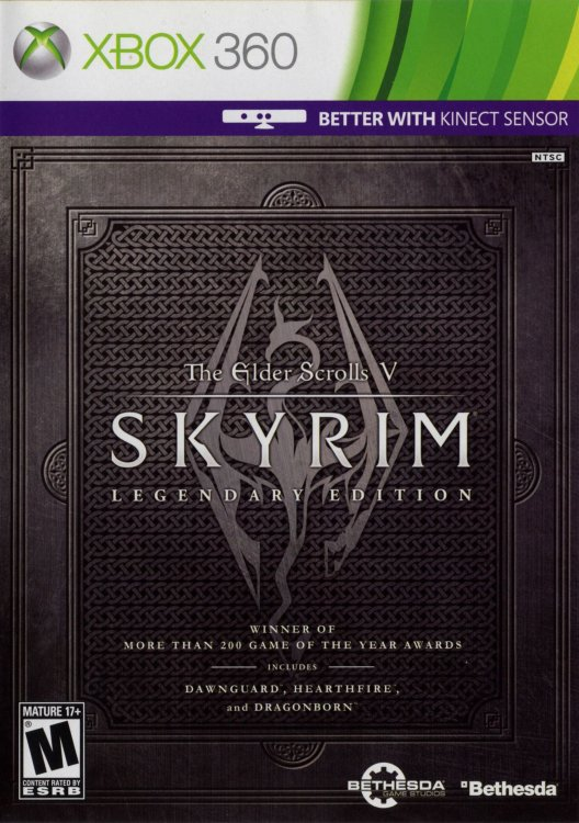 The Elder Scrolls V Skyrim Legendary Edition (2 Xbox 360)