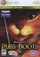 Puss in Boots the Video Game  (Xbox 360 Kinect)