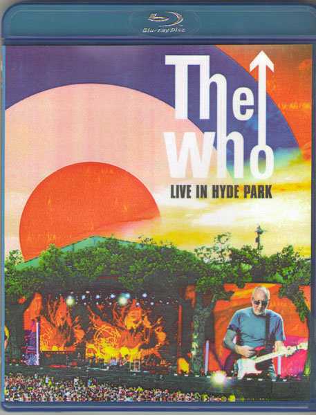 The Who Live in Hyde Park (Blu-ray)