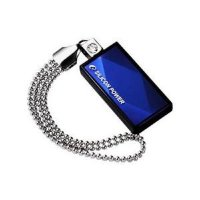 Флеш-карта Flash Drive 16GB USB 2.0 Silicon Power Touch 810 Blue