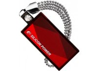 Флеш-карта Flash Drive 16GB USB 2.0 Silicon Power Touch 810 Red