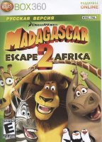 Madagascar 2 Escape to Africa (Xbox 360)